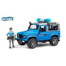 Bruder Land Rover Police Vehicle