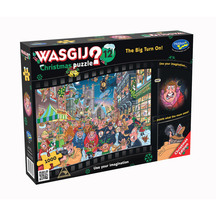 Wasgij Christmas #12 1000pc Puzzle - The Big Turn On!