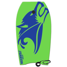 Waxenwolf Alpha Boogie Board with Leash - 45""