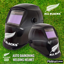 Welding Helmet All Blacks Mesh - Platinum