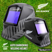 Welding Helmet All Blacks Fern - Titanium