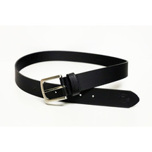 Swanndri Men's Black Leather Jean Belt