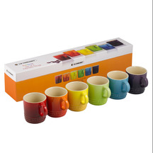 Le Creuset Stoneware Espresso Mug 100ml - Set of 6