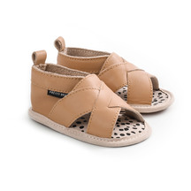 Pretty Brave Baby Cross Over Sandal - Tan