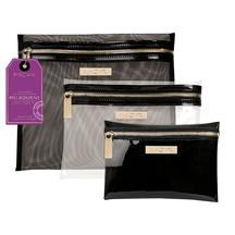 MOR Destination Melboune Cosmetic Purse - 3 Pack