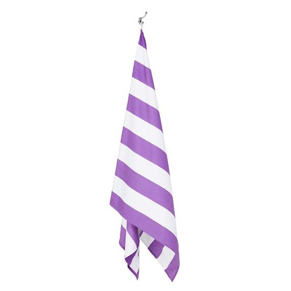 hanging beach towel. 54710 Purple 215 Pts Hanging Beach Towel L