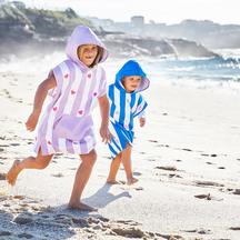 Dock & Bay Quick Dry Microfibre Kids Poncho Towel