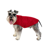 Animal Outfitters Amazon Dog Raincoat - Cranberry Red