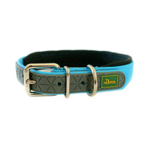 Neoprene Comfort Dog Collar - Turquoise Blue