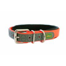 Neoprene Comfort Dog Collar - Tangerine Orange