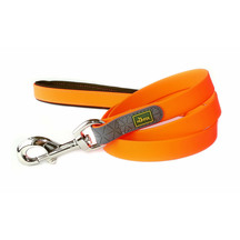 Neoprene Comfort Dog Leash - Tangerine Orange