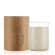 Alchemy Clear Glass Beaker Candle