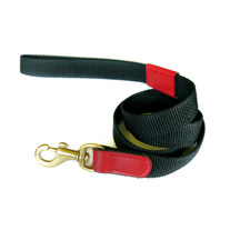 Animal Outfitters Madison Dog Leash - Claret Red