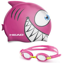 Head Meteor Character Junior Goggles and Cap Set