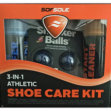 Sof Sole 3 in 1 Shoe Care Kit