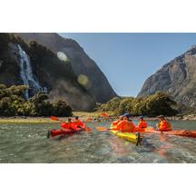 Kayaking on the Milford Sound