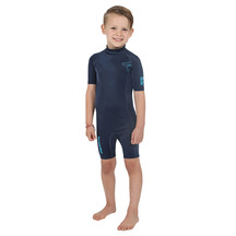 Torpedo7 Junior Reef Rash Suit - Navy