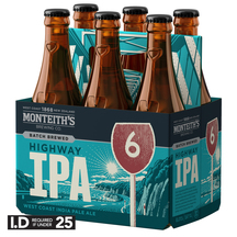Monteith's Highway IPA 6 Pack Bottles 330ml