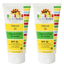 Made4Baby Natural 50 Sunscreen