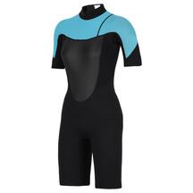 Torpedo7 Women's Evo 2/2 Spring Suit - Black/Light Blue