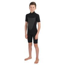 Torpedo7 Youth Boy's Evo 2/2 Spring Suit - Black