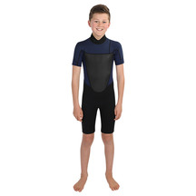 Torpedo7 Youth Boy's Evo 2/2 Spring Suit - Black/Navy