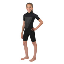 Torpedo7 Youth Girl's Evo 2/2 Spring Suit - Black
