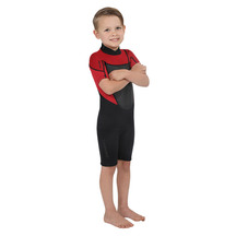 Torpedo7 Junior Boy's Evo 2/2 Spring Suit - Black/Red