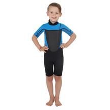 Torpedo7 Junior Boy's Evo 2/2 Spring Suit - Black/Blue