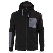 Torpedo7 Men's Merino Hatton Hooded Jacket - Black