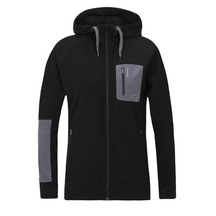 Torpedo7 Women's Merino Hatton Hooded Jacket - Black