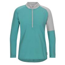 Torpedo7 Women's Merino Vale Long Sleeve Half Zip Tee - S...