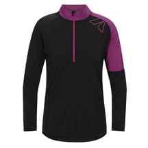 Torpedo7 Women's Merino Vale Long Sleeve Half Zip Tee - B...