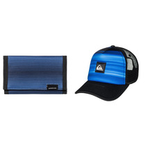 QUIKSILVER Cap and Wallet Pack