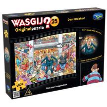 Wasgij Original #25 1000pc Puzzle - Deal Breaker