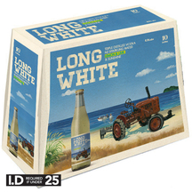 Long White Lemon & Lime 4.8% 10 Pack Bottles 320ml