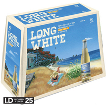 Long White Passionfruit 4.8% 10 Pack Bottles 320ml