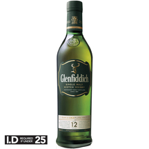 Glenfiddich 12yo Single Malt Whisky 700ml
