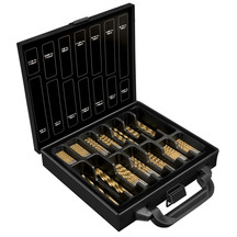 Powerbuilt Titanium Coated Drill Bit Set