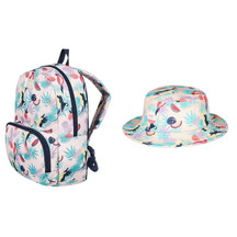 ROXY Youth Backpack and Tropical Peach Hat