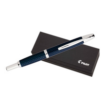 Pilot Capless Splash Blue Fountain Pen