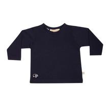 Mokopuna Merino Long Sleeve T-shirt Marine