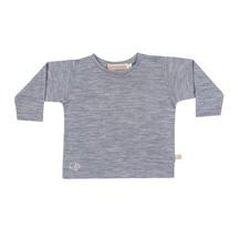Mokopuna Merino Long Sleeve T-shirt Mist