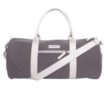 Duffle & Co: The Amsler Canvas Duffle Bag Grey