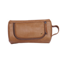 Duffle & Co: The Ralph Leather Toiletry Bag