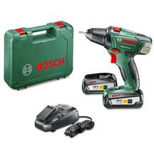 Bosch PSR 18 LI-2 Cordless Drill Driver Set