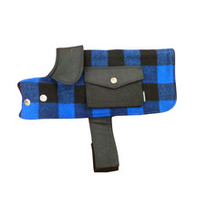 Swanndri The Classic Dog Cover - Blue/Black