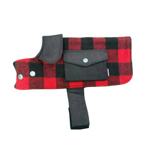Swanndri The Classic Dog Cover - Red/Black