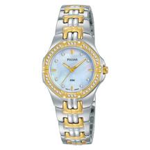Pulsar Ladies Crystal Dress Watch
