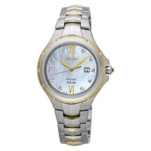 Seiko Ladies Coutura Solar Diamond Dress Watch